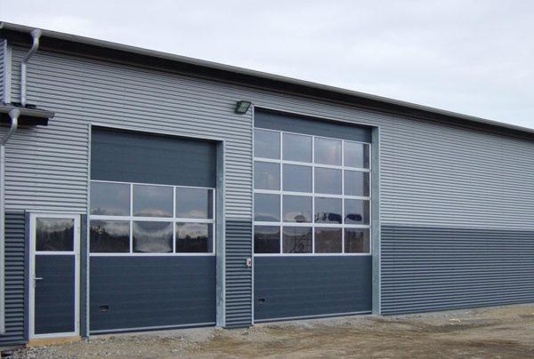 NASSAU 9000m for industry with side door