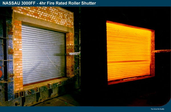 NASSAU fire roller shutters