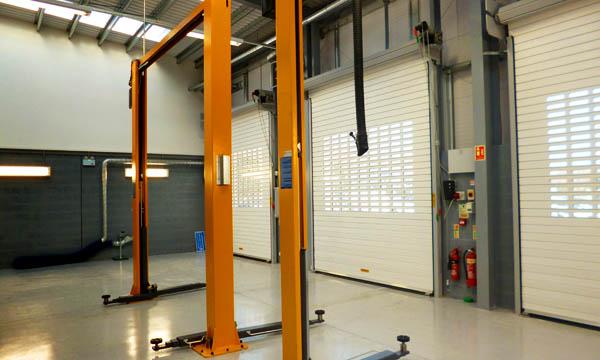 NASSAU insulated roller shutters