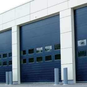 NASSAU 9000F blue door example