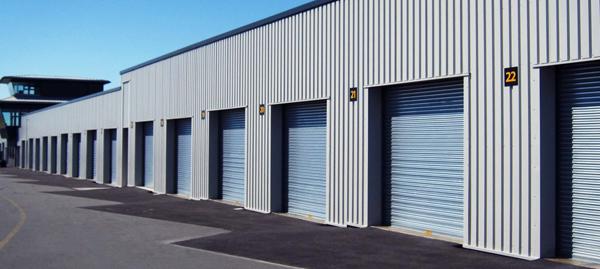 NASSAU light blue roller shutters
