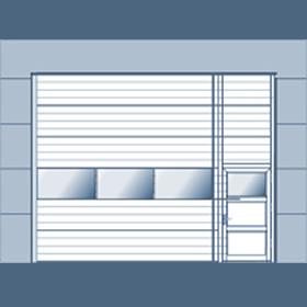 A model overview of NASSAU industry doors